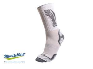 גרביים מנדפות לבן